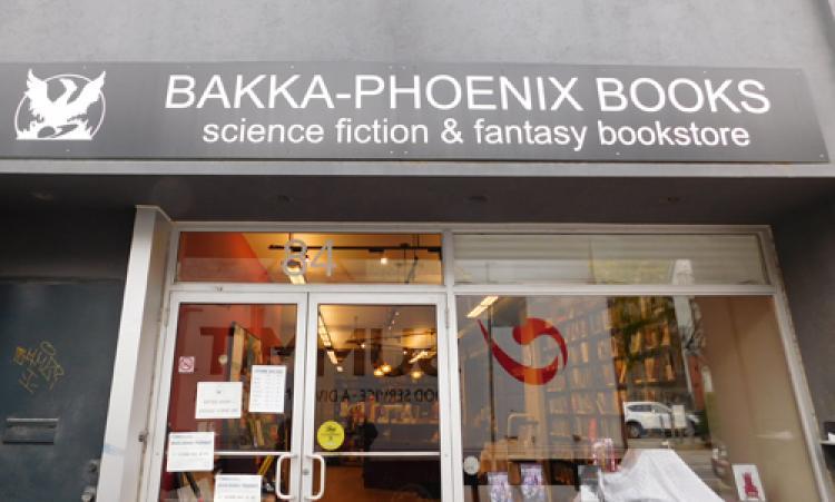 Picture of Bakka Phoenix Books storefront
