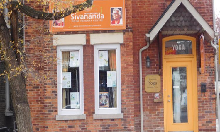 Picture of Sivananda Yoga storefront