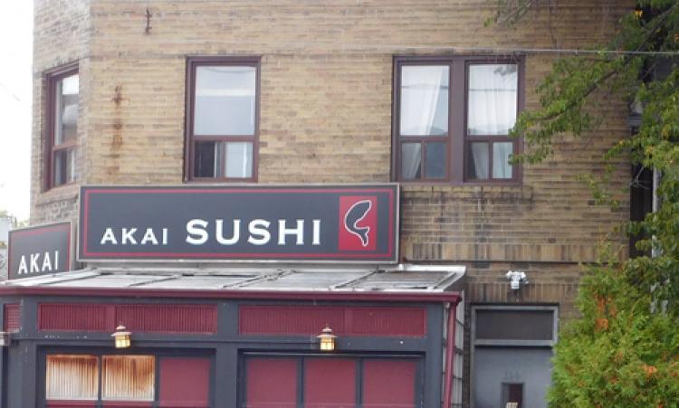 Akai Sushi Japanese Restaurant storefront