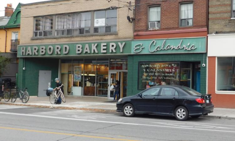 Picture of Harbord Bakery storefront